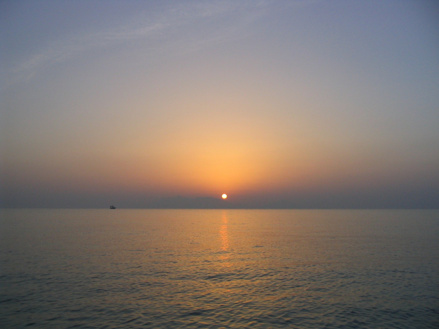 Sonnenuntergang in Mastichari